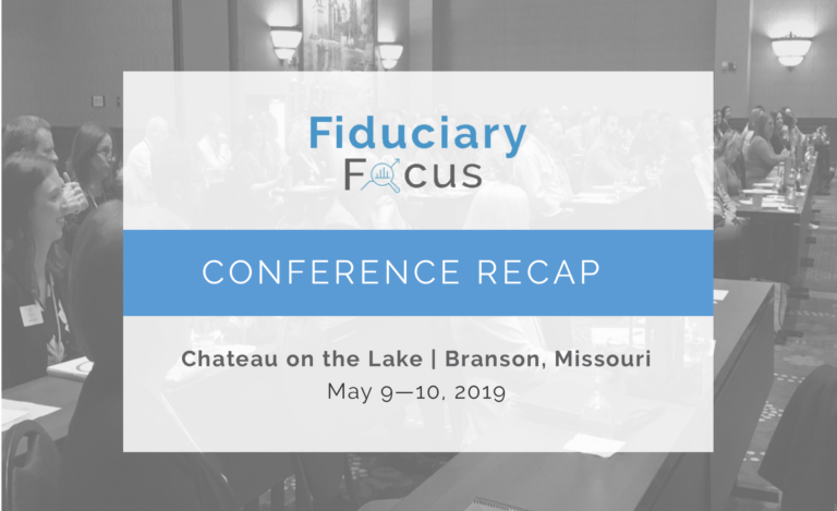 Pension Consultants Hosts 2019 Fiduciary Focus Conference